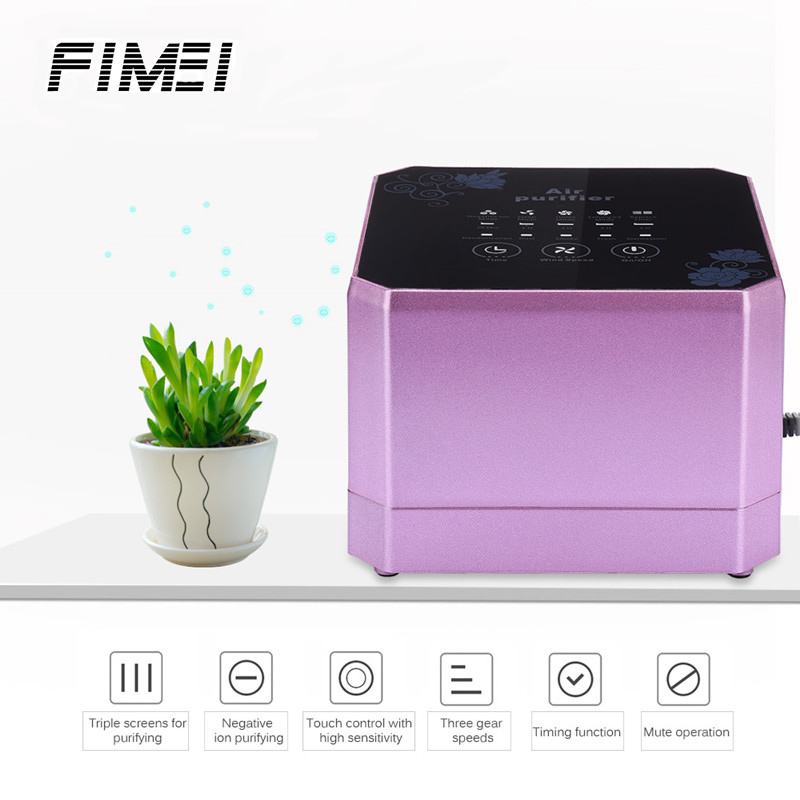 FIMEI 2018 New Air Purifier Cleaner Sterilizer Negative Ion Generator Removing Formaldehyde Intelligent Air Purifier For Home цена 2017