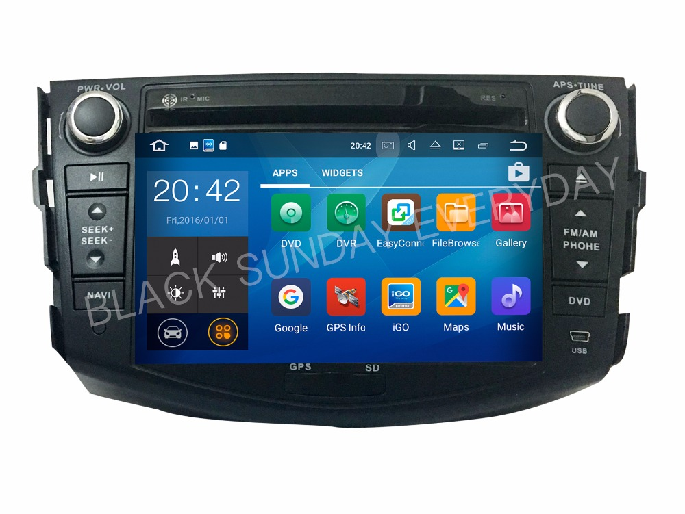 Android 9.0 RAM 2G Fit TOYOTA Rav4 2006 2007 2008 2009 2010-2012 CAR DVD predvajalnik Navigacija GPS Multimedia AUDIO STEREO DVD RADIO