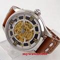 Мужские наручные часы с сапфирами  45 мм