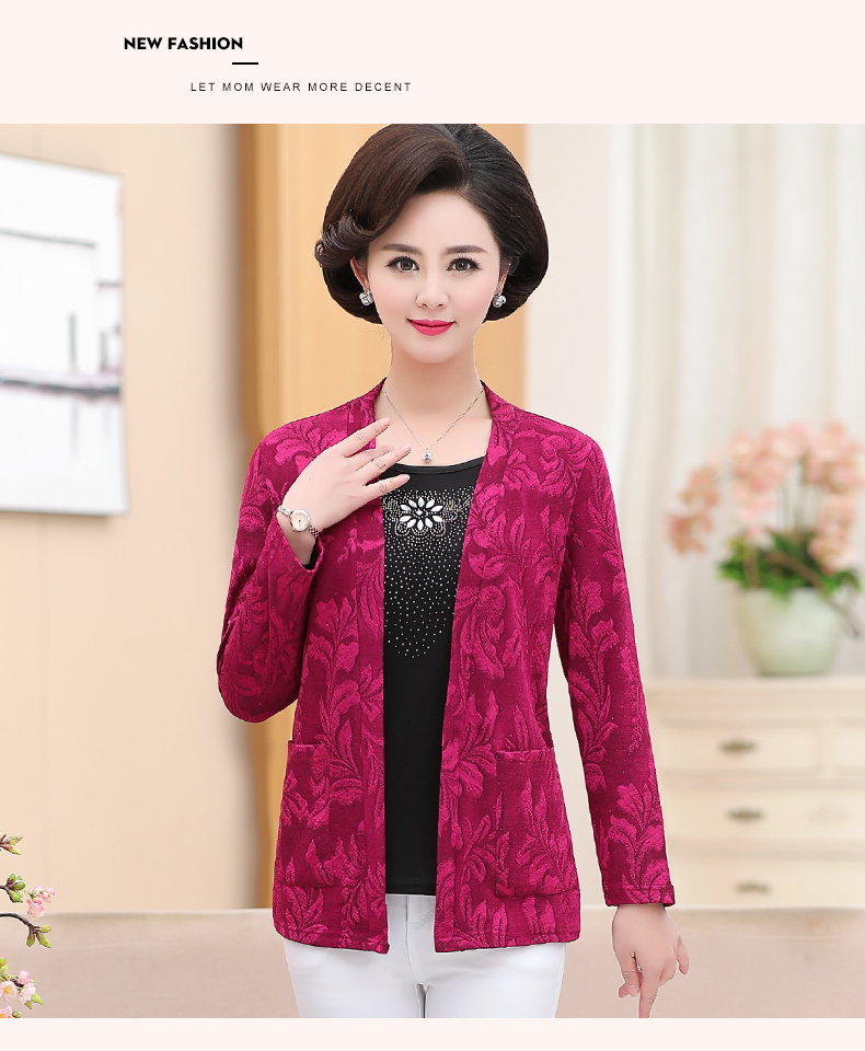 2019 Women Sequined Blouses Fake 2 Piece Top Rose Red Green Layered Shirt Faux Twinset Blouse Woman Casual Flower Shirt Top Female (11)