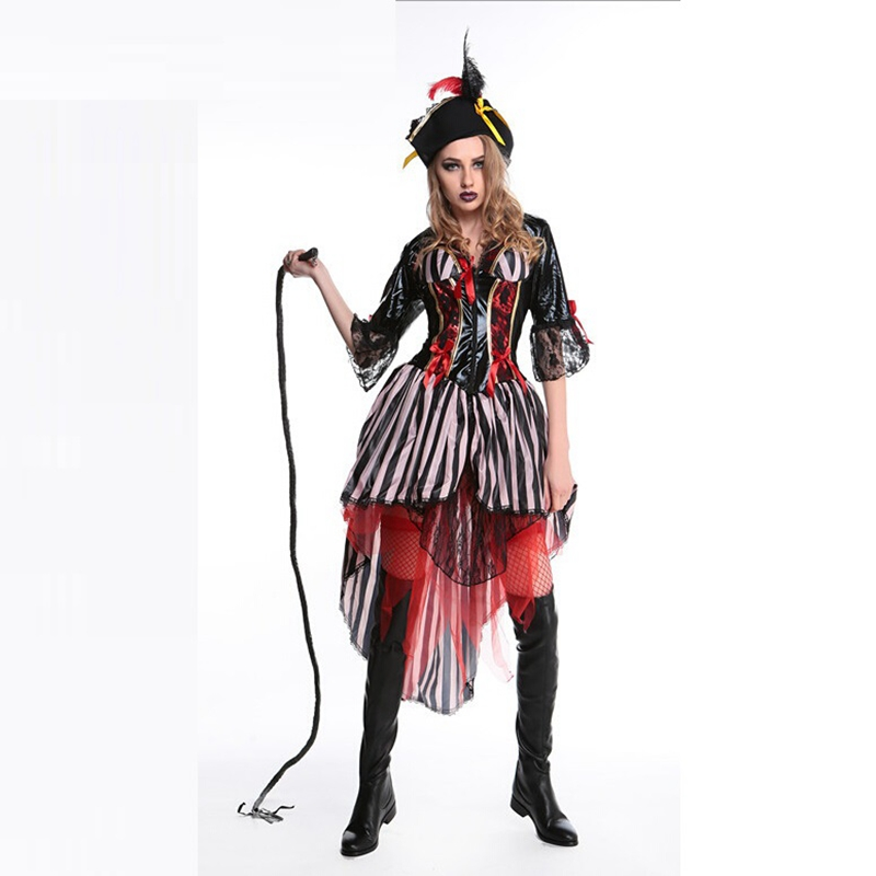 Halloween Costumes Adult Caribbean Pirate Costumes Fancy Dress ...