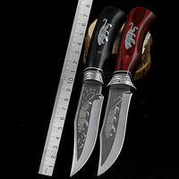 Outdoor Camping Fighting Fixed Blade Stainless Steel 7CR17MOV Tactical Hunting Knives Tool