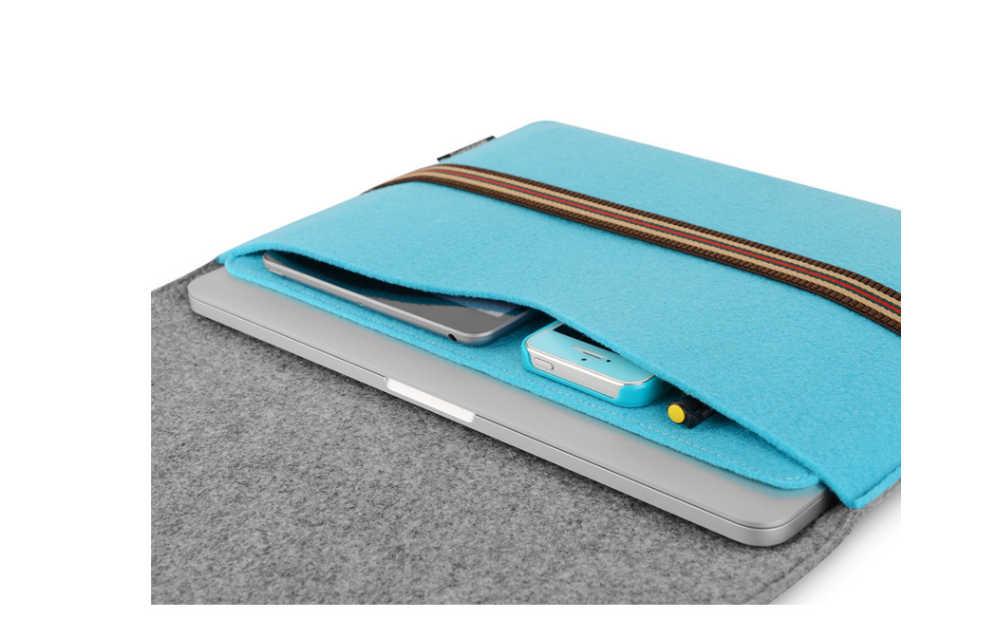 חדש רך שרוול תיק מקרה עבור אפל רשתית 11 13 מחשב נייד נגד שריטות כיסוי עבור Mac ספר 13.3 inch