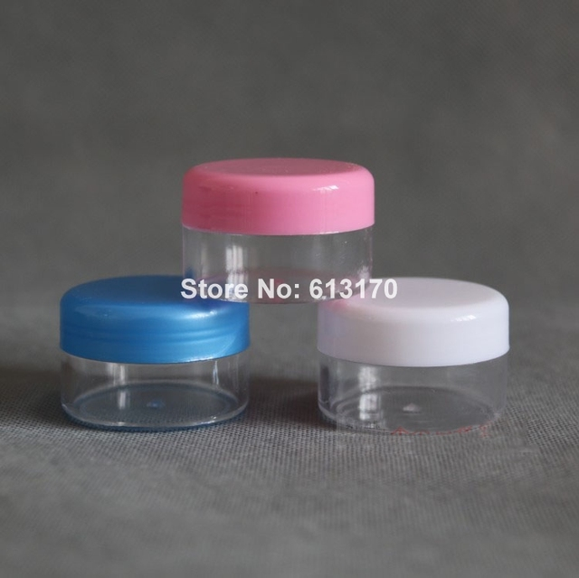 30g cosmetic cream jar clear empty bottles cosmetic containers
