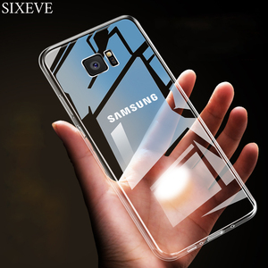 Ultra Thin Soft Clear Case For Samsung Galaxy S10 S8 S9 Plus S4 S5 Neo S6 S7 Edge M10 M20 M30 A10 A20 A30 A40 A50 A60 A70 Cover(China)