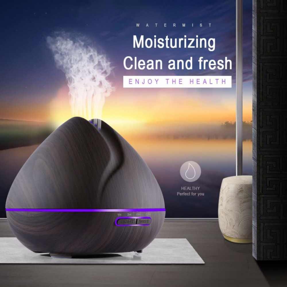 Từ xa Tạo Độ Ẩm Điều Khiển Essential Oil Diffuser Với 7 Màu LED Humidificador 550 ml Siêu Âm Aroma Diffuser Cho Home Văn Phòng