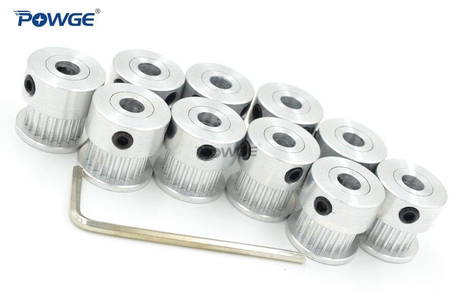 POWGE VORON 3D impresora V2.1 conjunto movimiento GT2 materiales a 2GT polea diámetro 5mm 16 t/20 t/40 t y 110-2GT 188-2GT bucle abierto cinturón - 4