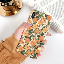 LACK Colorful Flower floral Leaf Phone Case For iph