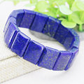 13X18mm Hot Sale Lapis lazuli Rectangle Hand Chain Bracelet Accessories Crafts Beads Jasper Jade Stone Jewelry Gems 15inch
