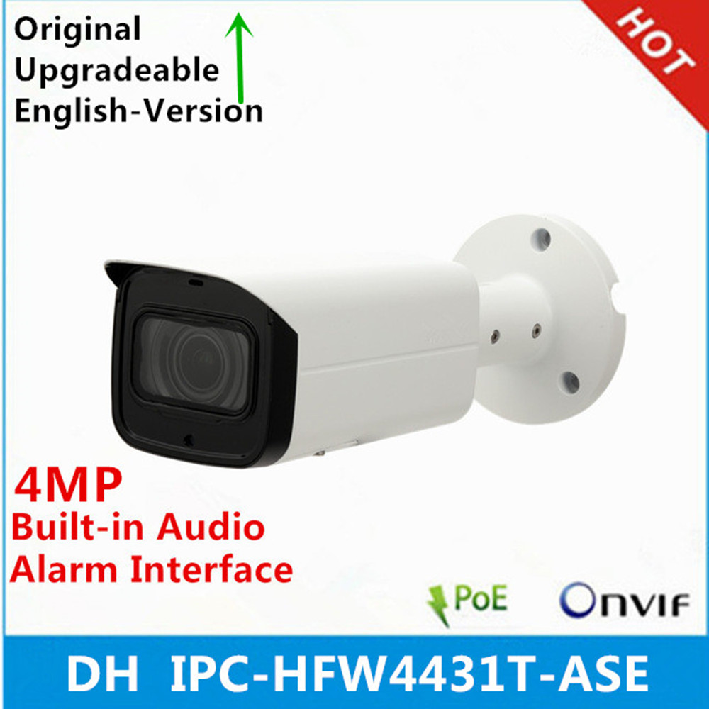 DH IPC HFW4431T ASE 4MP WDR IR Mini Bullet Network IP Camera H 265 Smart Detection