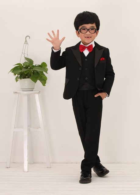bd8ce61100d Fashion Two Button Flower Boy s Wedding Suit Boy s Party Suit formal dress  Boy s