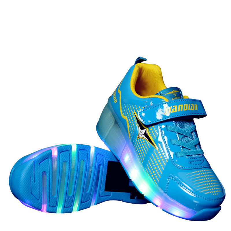 2017 Spring new arrival girls single wheel children increased sports led shoes Boys casual luminous fluorescent shoes 2016 new arrival children wheel shoes child increased sports shoes fashion skate shoes for girls boys and kids cb c097
