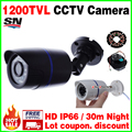 BigSale real 1200TVL 1/3cmos Security Surveillance Video Outdoor Waterproof IP66 CCTV Analog hd Camera infrared Night Vision 30m