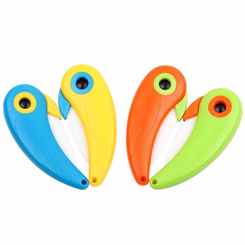 Mini Bird Ceramic Knife Pocket Folding Bird Knife Fruit