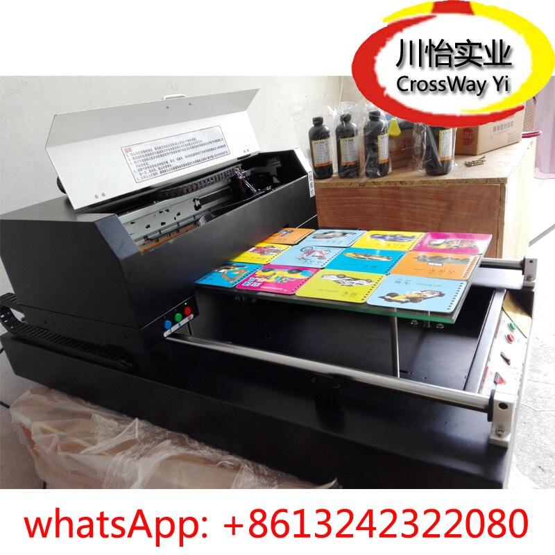Haute Résolution Téléphone cas imprimante avec LED UV séchage