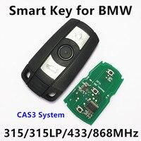 Smart Remote Car Key For BMW 1 3 5 6 Series X1 X5 X6 Z4 433Mhz
