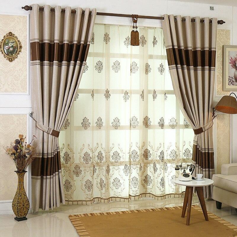 nueva europa blackout cortinas cortinas cortinas jacquard de doble cara for living room bed