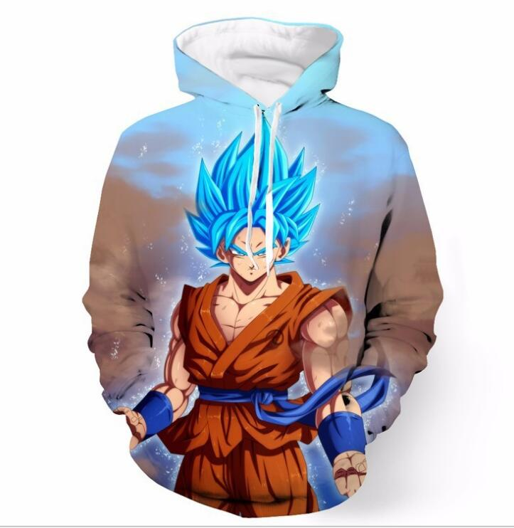 Goku Dragon Ball Z Men/'s Hooded Sweatshirt