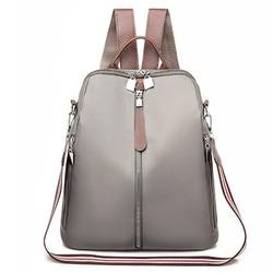 2020 décontracté Oxford sac à dos femmes noir étanche sacs d'école pour adolescentes de haute qualité mode voyage fourre-tout sac à dos # LR4