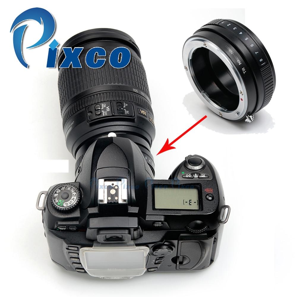 Pixco Macro Tilt Lens Mount Adapter Suit For /nikon F Mount Lens to /nikon Camera D800 D600 D7100 D5300 D3300 D5200 D750 D7000 pixco adapter suit for alpa mount lens