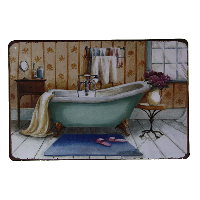 Bathroom Signs Wholesale online buy wholesale retro bathroom sign from china retro bathroom