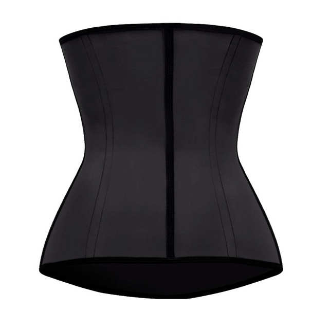 484097e8ab Miss Moly Latex Waist Trainer Body Shaper Women Corsets with Zipper Hot  Shapers Cincher Corset Top