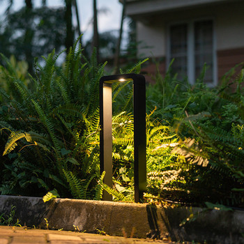 Nordic Design LED Lawn Lamp Outdoor Landscape Courtyard IP65 Waterproof Lamp Villa Hotel Modern Simplicity Style FREE Shiping