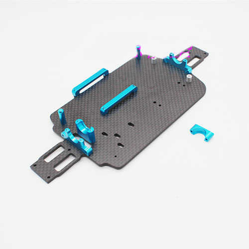 WLtoys A949 A959 A969 A979 K929 A959-B A969-B A979-B A979-A A979-3 RC auto onderdeel A949-03 koolstofvezel chassis lage body shell