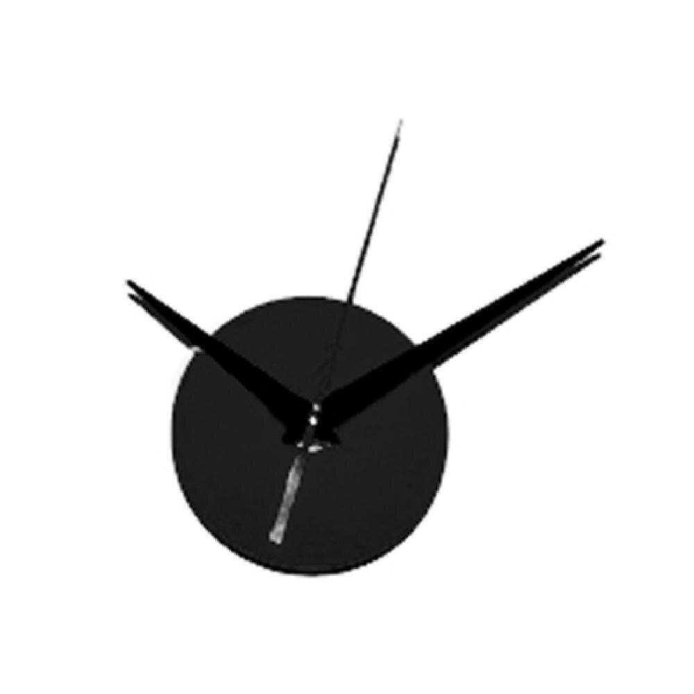 New Fashion Black Quartz Wall Clock Movement Mechanism Repair DIY