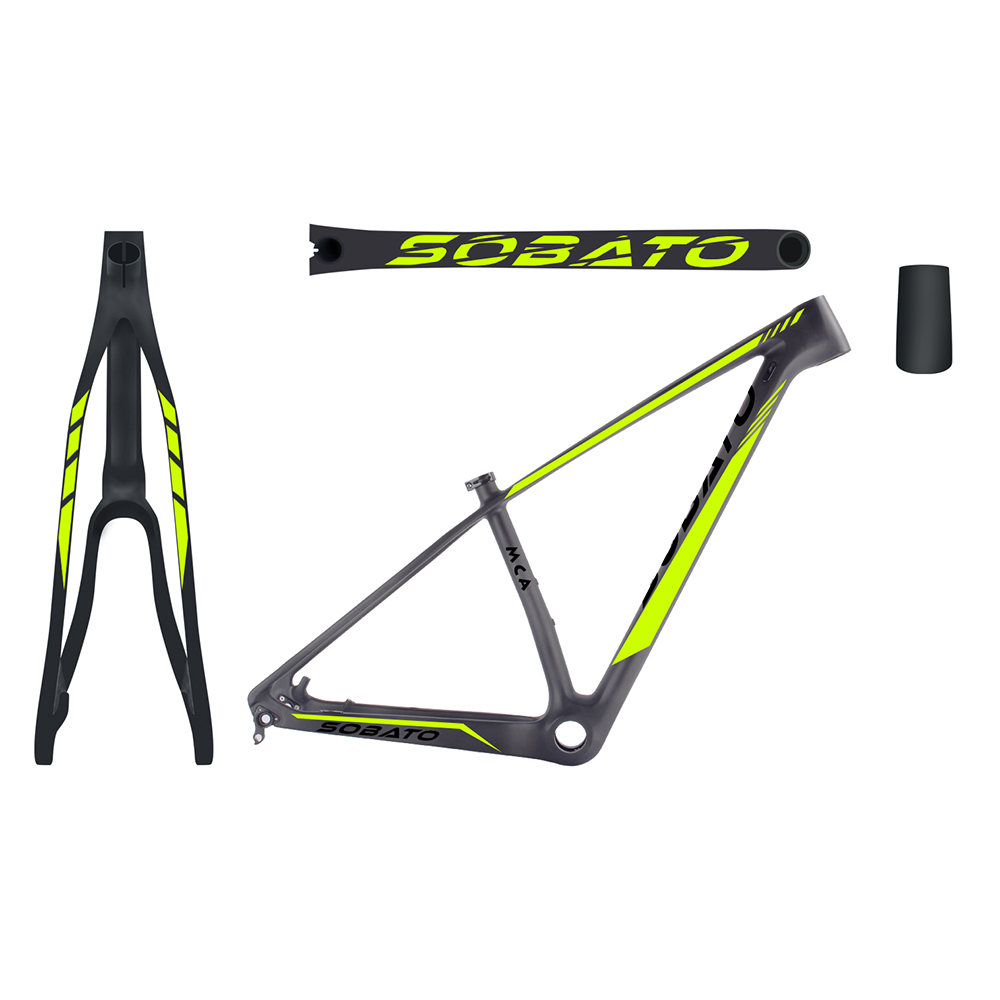 Carbon MTB frame 29er carbon frame mtb BSA ,2017 Full Carbon 3k ud glossy MTB Mountain Bike Bicycle 20inch size 29ER Frame good quality original zealot b19 stereo wireless headset bluetooth headphone headband headset with fm tf led indicators for mp3
