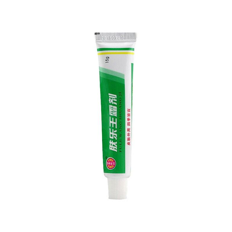 1pc FULEWANG SHUANGJI Skin Psoriasis Cream Dermatitis Eczematoid Eczema Ointment Treatment Psoriasis Cream