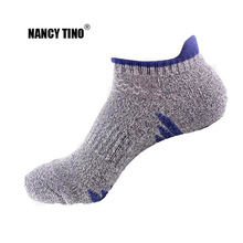 NANCY TINO Men/Women Professinal Outdoor Climbing Sports Socks Cotton Breathable Ankle Short Fast- drying Boat Invisible
