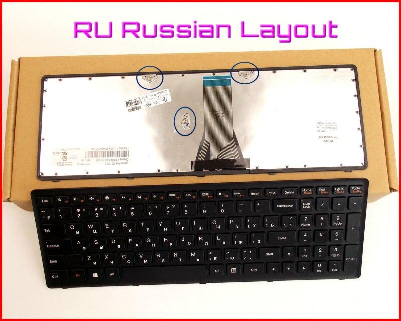 Bilgisayar ve Ofis'ten Yedek Klavyeler'de Yeni Klavye RU Rus Versiyonu Lenovo V 136520PS1 US 25211050 25211020 25211080 25211028 T6E1 US Dizüstü Bilgisayar Çerçeve