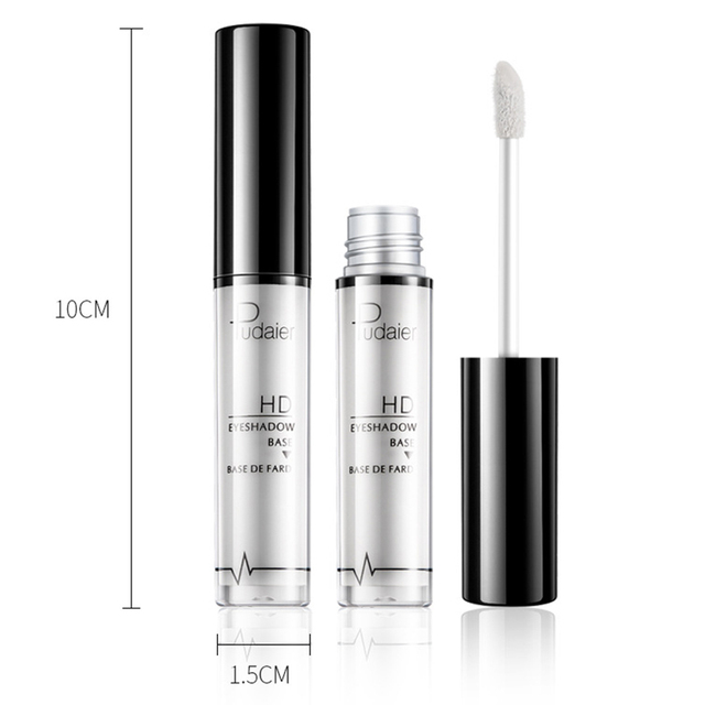 Pudaier Natural Primer Makeup Eyes Base Waterproof Cream  Under Shadow Cosmetic Eyeshadow Base Primer Makeup Moisturzing 5