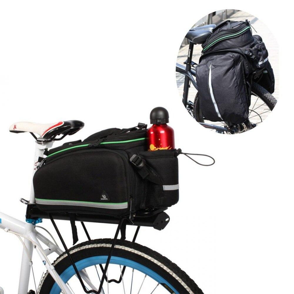 ФОТО 2015 Top sale High Quality ROSWHEEL Bike Bicycle Cycling Rear Seat Tail Bag Extensible Shoulder Handbag