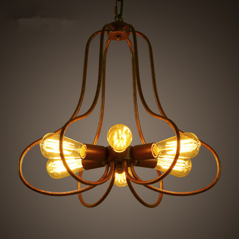 American rural retro industrial creative Sitting room bedroom cafe restaurant Clothing store Petals droplightAmerican rural retro industrial creative Sitting room bedroom cafe restaurant Clothing store Petals droplight
