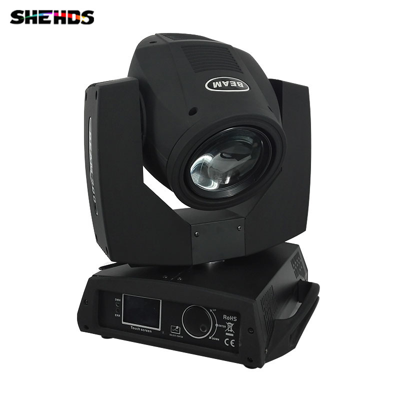 200W 5R Moving Head Beam Stage Light Professional Karaoke Equipment Bright Sharpy 16 Crystal Prism Disco Party Lighting