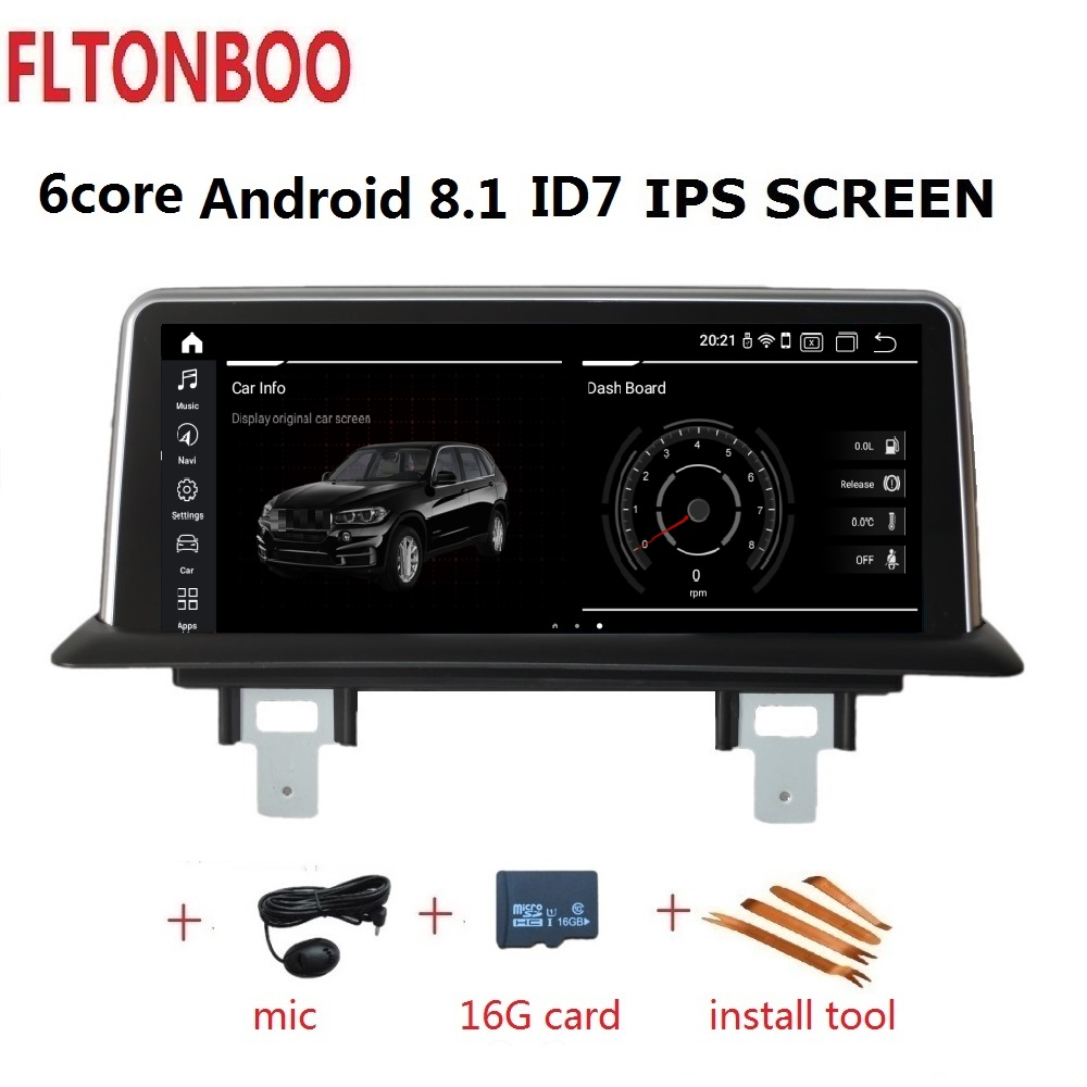 10.25'' Android 8.1  Car GPS Navigation Radio player ID7 for BMW 1 Series 120i E81 E82 E87 E88  2G RAM 32G ROM 6 core