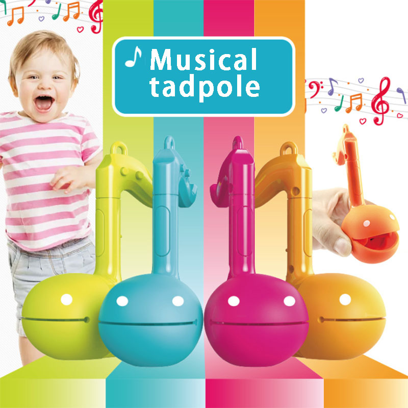 Otamatone Electronic Musical Organ Musical Tadpole Melody Instrument Charm  Children's Educational Toys