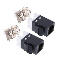 Network Module RJ45 Connector Cable Adapter Keystone Jack M23 drop shipping