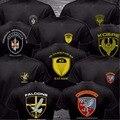 2016 Verano Fuerzas Especiales Contra La Policía Serbia Terroris Unidad Del Ejército CAJ Cobra Halcones Camiseta Divertida de Manga Corta O de Cuello Negro camisa