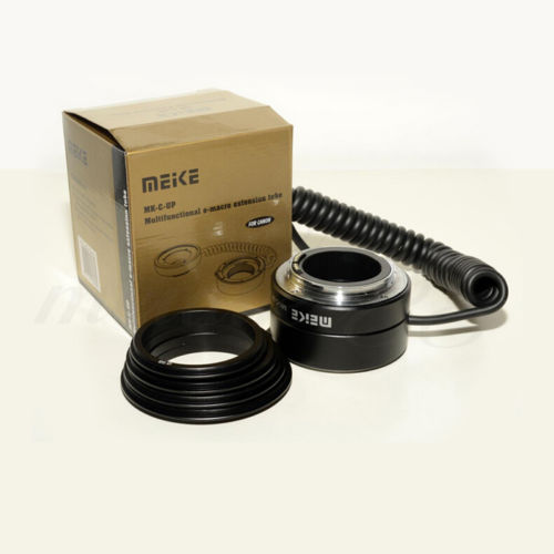 Meike MK C UP Auto Macro Extension Tube AF Reverse Adapter For Canon DSLR Camera