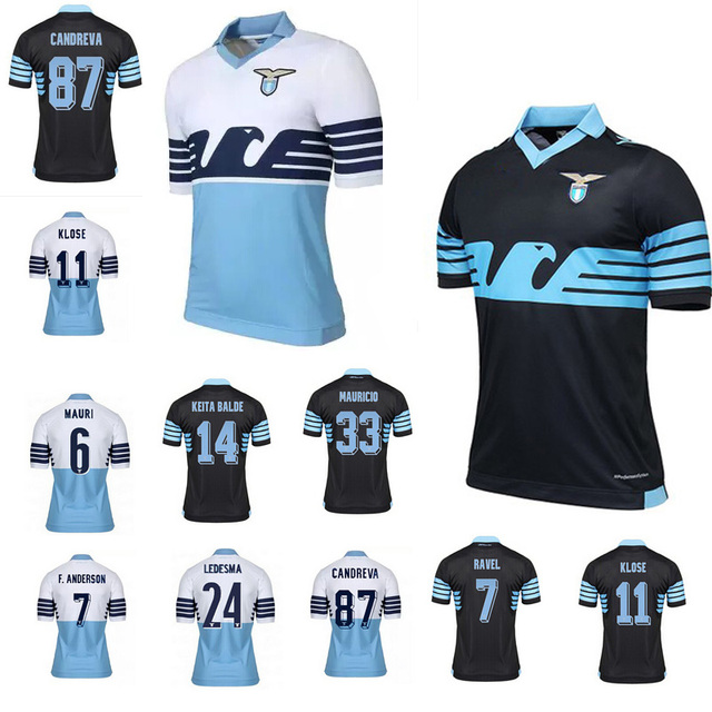 Superior! tailandia 20152016 BIGLIA Klose Lazio camiseta de fútbol Lazio  fútbol chaqueta de la camisa 62e3751a17b22
