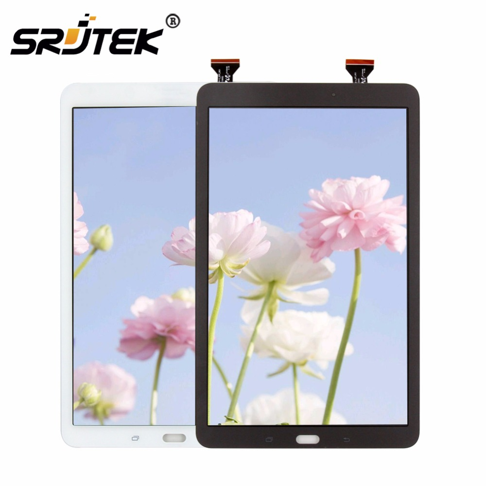 Srjtek For Samsung Galaxy Tab E 9.6 SM-T560 T560 SM-T561 LCD Display Touch Screen Digitizer Matrix Panel Tablet Assembly Parts tablet lcd assembly for samsung galaxy tab a 9 7 sm p550 p550 display with touch screen digitizer panel lcd combo replacement