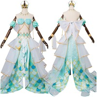 Lovelive Sunshine G's Magazine Kanan Matsuura Cosplay Costume Mermaid Awaken Outfit Suit Halloween Costumes