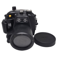Mcoplus 40M 130ft Waterproof Underwater Camera Housing Diving Case for Canon 550D Rebel T2i Digital SLR Camera