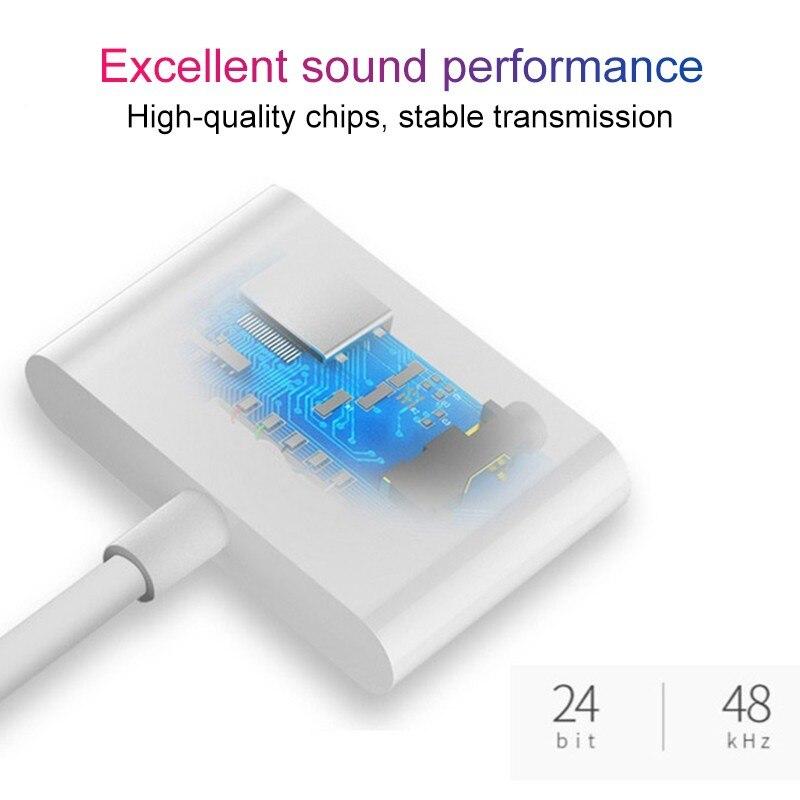 2 в 1 аудио адаптер зарядный кабель для наушников для iPhone 11x7 8 plus Aux Jack гарнитура для освещения 3,5 мм для разветвителя наушников