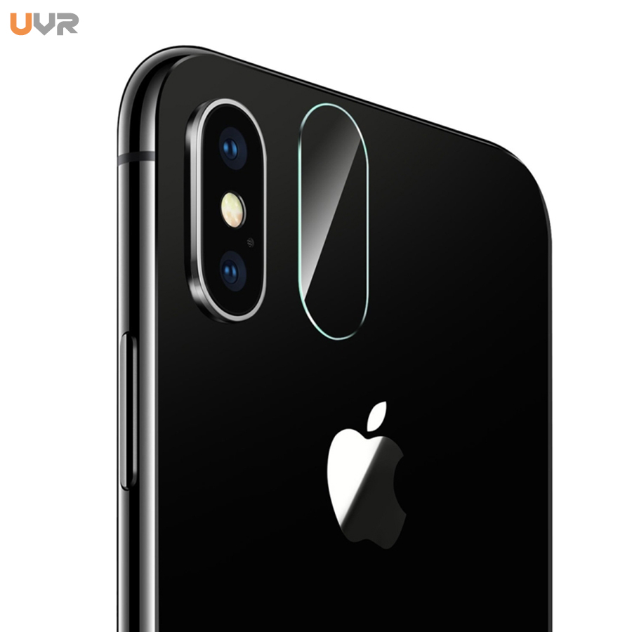 Full Cover Camera Lens Screen Protector Tempered Glass For iPhone X Flexible Back Rear Transparent 2.5D Full Cover Film