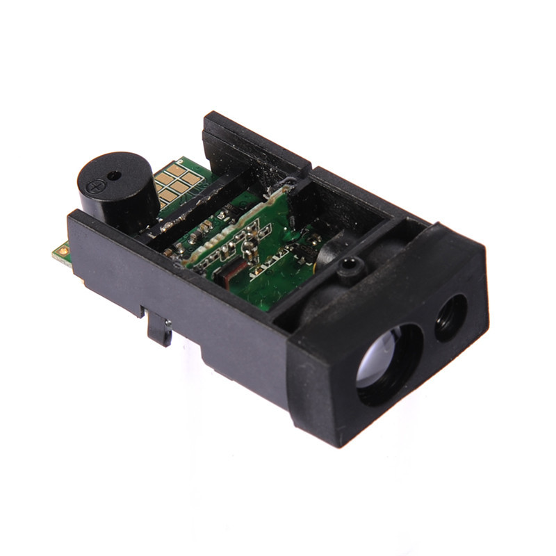 50 m/ 164 ft Laser Distance Meter Measuring Sensor Range Finder Module with Single & Continuous Measurement Functions