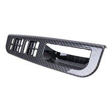 Модель углеродного волокна двери окна переключатель Управление Панель для VW Golf Jetta MK4 1998 1999 2000 2001 2002 2003 2004